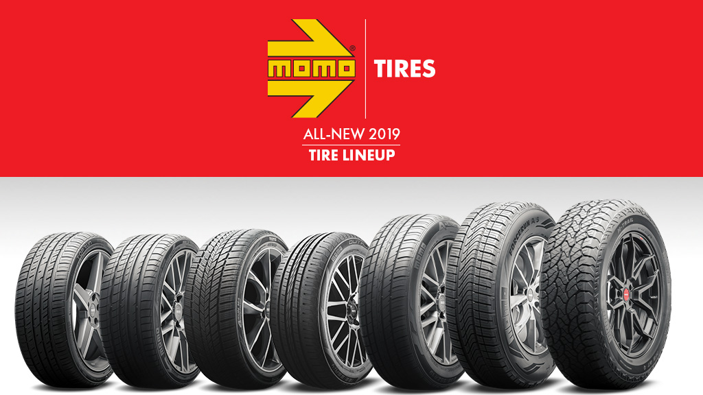 MOMO Tires Announces Launch of North American All-Season Product Lineup at the 2018 SEMA Show