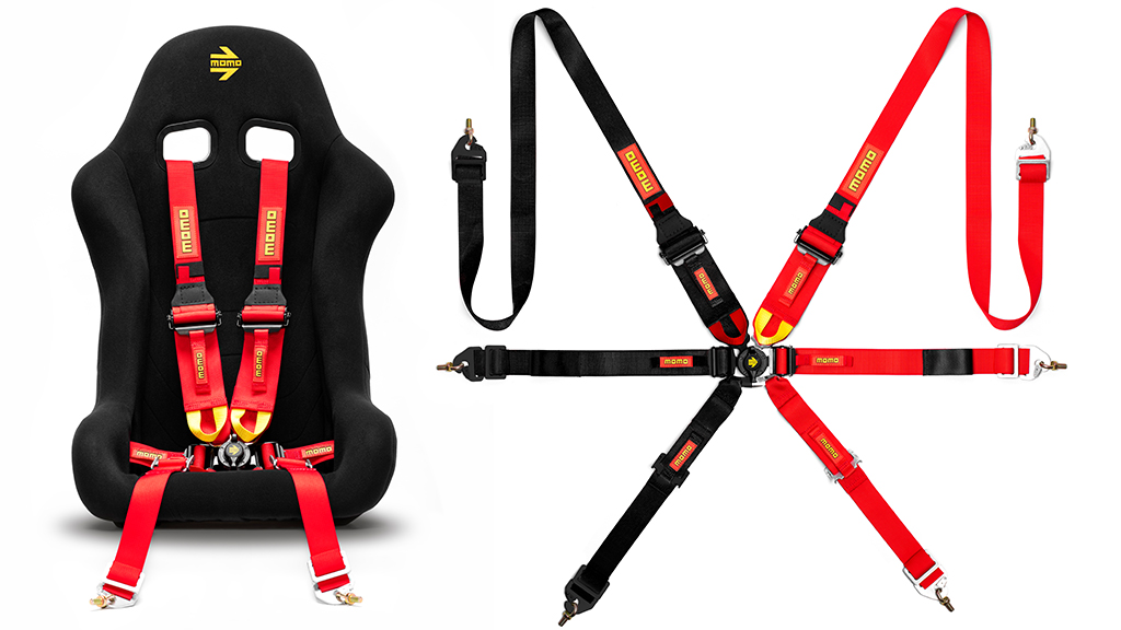 MOMO Launches New SR6-Series Racing Harness